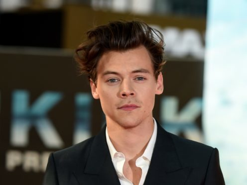 Harry Styles is among those shortlisted for the Gay Times Awards (Lauren Hurley/PA)
