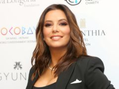 Eva Longoria has posted a throwback post on her Instagram account (Isabel Infantes/PA)