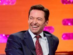EMBARGOED TO 0001 FRIDAY DECEMBER 29 Hugh Jackman appearing on the Graham Norton Show filmed at the London Studios, London to be aired on New Year's Eve.