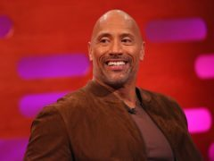 Dwayne Johnson is part of the cast for the movie to be filmed in Glasgow (Isabel Infantes/PA)