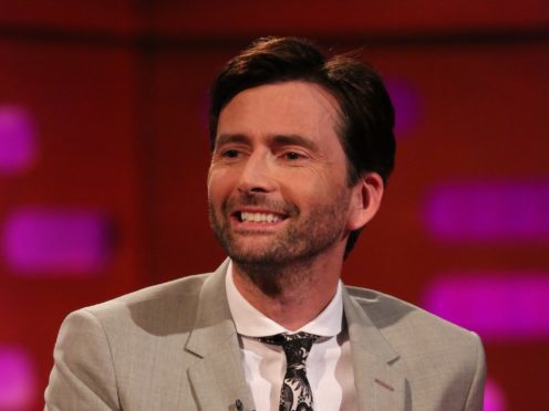 David Tennant stars in new autobiographical comedy drama There She Goes (PA)