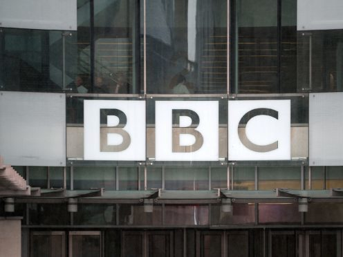 The BBC suffered a technical glitch during a live morning broadcast (Anthony Devlin/PA)