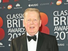 Bill Turnbull arrives at the Classic Brit Awards 2018, at the Royal Albert Hall in London. (Isabel Infantes/PA)