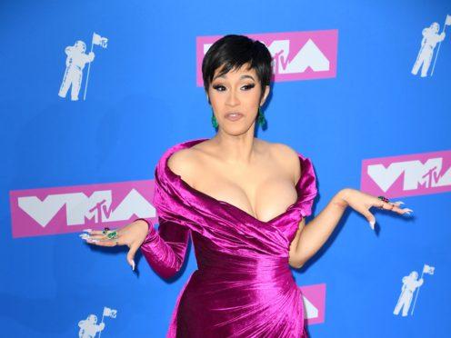 "Cardi B accused Nicki Minaj of ""lying so much you can't even keep up"" (PA)"