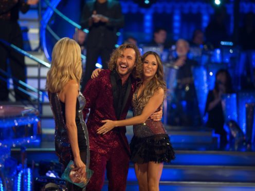 Piers Morgan backs Seann Walsh and Katya Jones to remain in Strictly (BBC/Guy Levy)