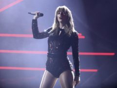 Taylor Swift performs I Did Something Bad at the American Music Awards (Matt Sayles/Invision/AP)