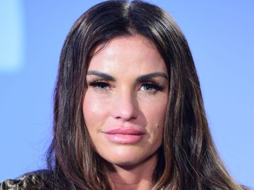 Katie Price has been given time to negotiate a deal with the taxman over her finances following a High Court hearing (Ian West/PA)