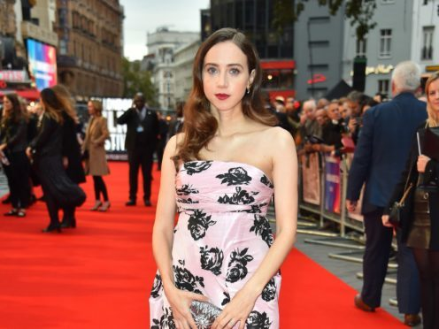 Zoe Kazan attending the American Airlines Gala as part of the BFI London Film Festival at the Cineworld at Leicester Square (Matt Crossick/PA)