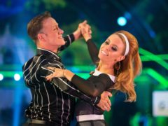 Stacey Dooley promises to dance in Strictly this weekend after injury (Guy Levy/BBC)