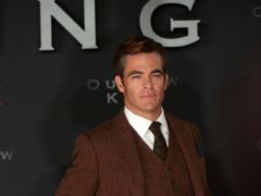 Chris Pine at the Scottish premiere of Outlaw King at the Vue Omni in Edinburgh (David Cheskin/PA)