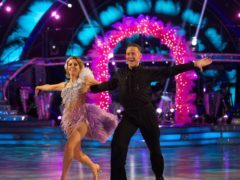 Stacey Dooley and her dance partner Kevin Clifton on Strictly Come Dancing (BBC/PA)