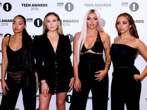 Little Mix have released the music video for their latest single Woman Like Me, which features US rap star Nicki Minaj (Ian West/PA)