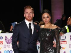 Strictly's Neil Jones asks for 'positivity' after appearance with wife Katya (Steve Parsons/PA)