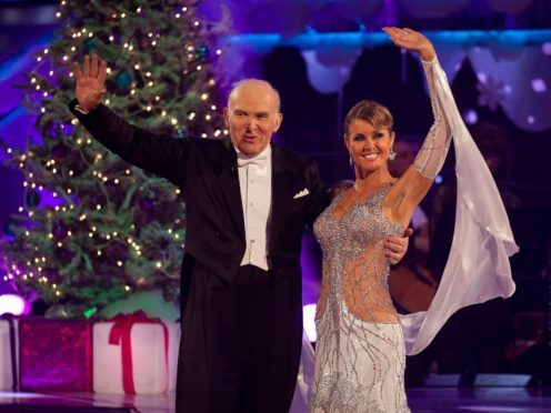 Sir Vince Cable with professional partner Erin Boag on the 2010 Strictly Christmas special (Guy Levy/BBC/PA)