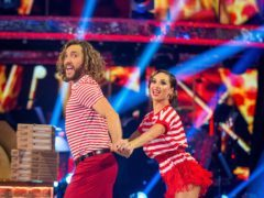 Strictly scores ratings high as Walsh and Jones perform 'dance of shame' (BBC/Guy Levy)