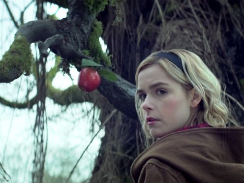Kiernan Shipka in Chilling Adventures of Sabrina (Netflix)