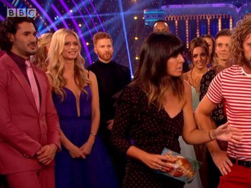 Viewers transfixed by Katya Jones' 'fuming' husband Neil on Strictly (BBC/screengrab)
