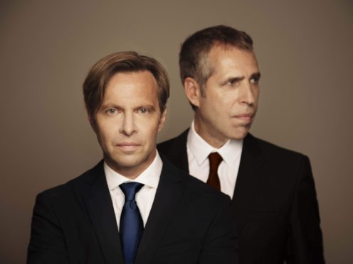 Clark Datchler and Mike Nocito from Johnny Hates Jazz (James Warwick/PA)