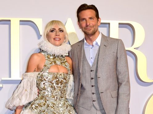 Lady Gaga and Bradley Cooper (Ian West/PA)