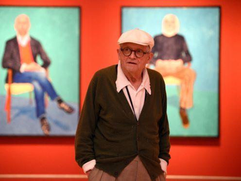 David Hockney (Andrew Matthews/PA)