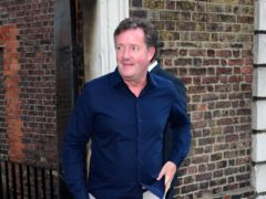 Piers Morgan said he was 'utterly fearless' (Ian West/PA)