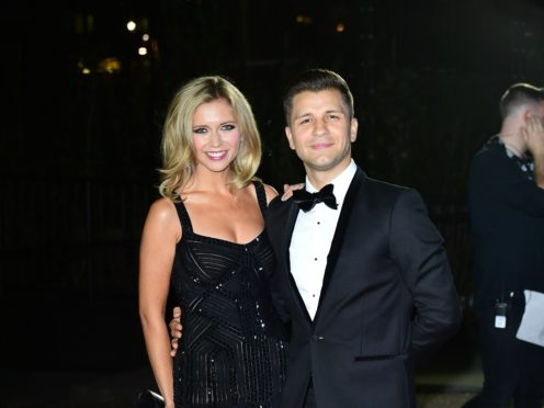 Rachel Riley and Pasha Kovalev (PA)