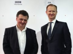 Steven Moffat (left) and Mark Gatiss (PA)
