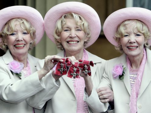 The Beverley Sisters (Andrew Parsons/PA)