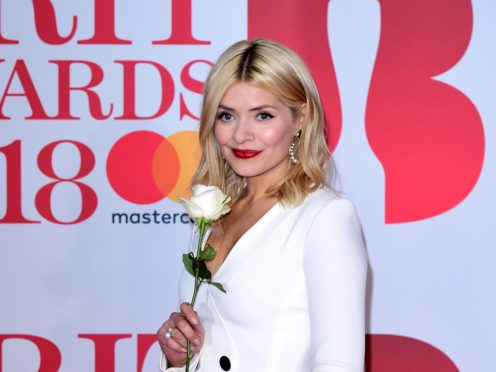 Holly Willoughby received a mixed response after presenting the ITV show alongside Declan Donnelly (Ian West/PA)