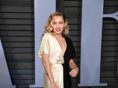 Miley Cyrus has been left 'devastated' after her home was burned down in the wildfires raging across California (PA)