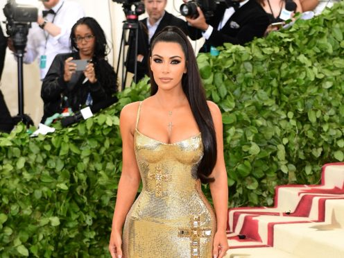 Kim Kardashian West shared an adorable video of her five-year-old daughter North throwing a tantrum while trying to give her mother a makeover (Ian West/PA)