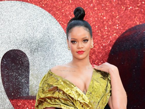 Rihanna joined the growing list of celebrities to object to Donald Trump playing their music at his 'tragic' rallies (Ian West/PA)