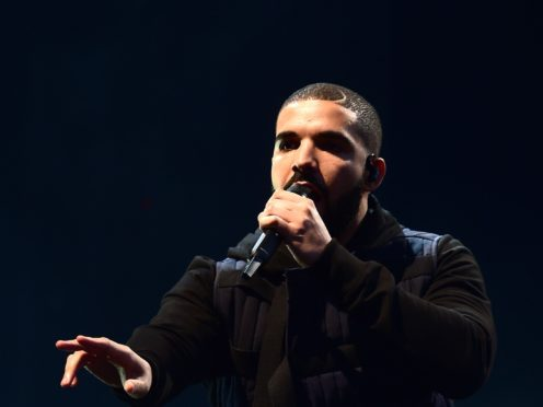 File photo dated 03/07/15 of Drake. The music video for the Canadian rapper's latest hit single will be released on Thursday.