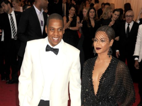 Jay-Z and Beyonce. (/PA)