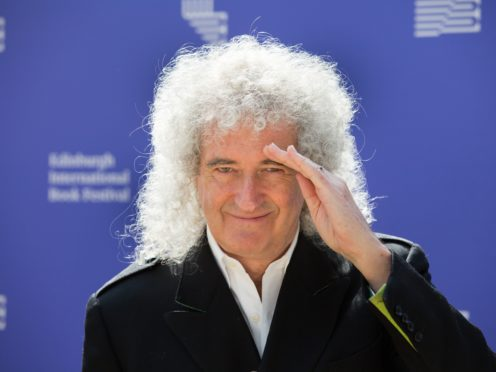 Queen guitarist Brian May has said Rami Melek's turn as Freddie Mercury deserved an Oscar nomination (Robert Parry/PA)