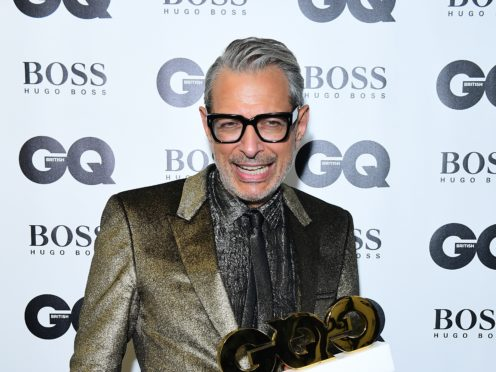 Jeff Goldblum became a father aged in his sixties (Ian West/PA)