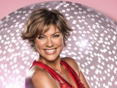 Strictly star Kate Silverton laughed off a rib injury and shared a video of herself inhaling pain medication (Ray Burmiston/PA)