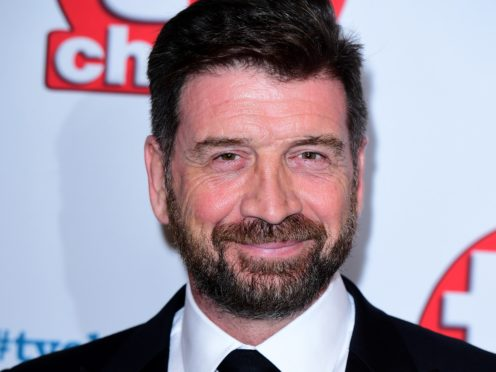 Nick Knowles said that he played with the Scottish rockers. (Ian West/PA)