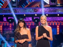 Claudia Winkleman and Tess Daly (Guy Levy/BBC)