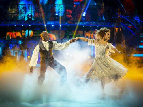 Amy Dowden and Danny John-Jules (BBC)
