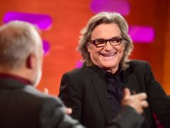 Kurt Russell during the filming of the Graham Norton Show (Ian West/PA)