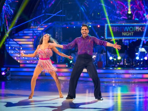 Janette Manrara and Dr Ranj Singh on Strictly (BBC)