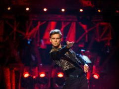 Strictly Come Dancing stars Joe Sugg and Dianne Buswell arrive at Blackpool Tower Ballroom for Strictly Come Dancing rehearsals.