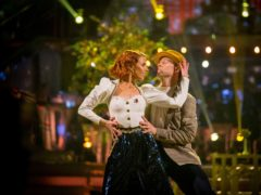 Stacey Dooley and Kevin Clifton (Guy Levy/PA)