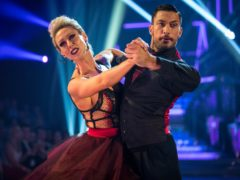 Faye Tozer and Giovanni Pernice on Strictly (BBC)