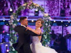 Aljaz Skorjanec and Kate Silverton (BBC)