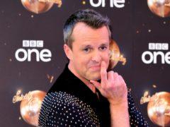 Strictly's Graeme Swann has denied taking a 'swipe' at Ashley Roberts (Ian West/PA)