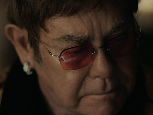 Elton John in The Boy & The Piano, which stars Sir Elton John and his first hit Your Song.