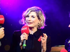 Doctor Who star Jodie Whittaker switched on Regent Street's Christmas lights (Ian West/PA)