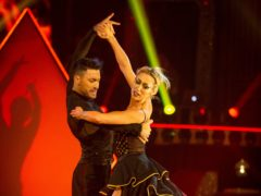 Faye Tozer's paso doble earned her a score of 38 out of a possible 40 points (Guy Levy/PA)